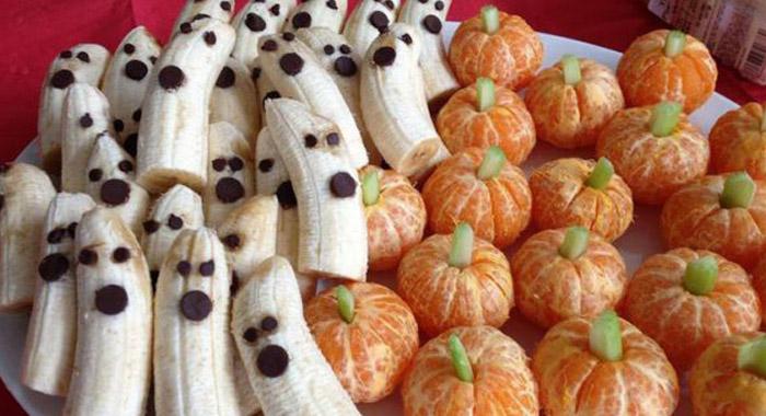 mesa de halloween aboboxerica