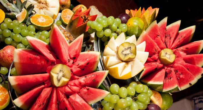 ceia de ano-novo frutas