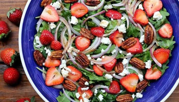 receitas faceis de saladas-morango