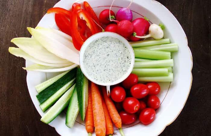 petiscos para copa legumes